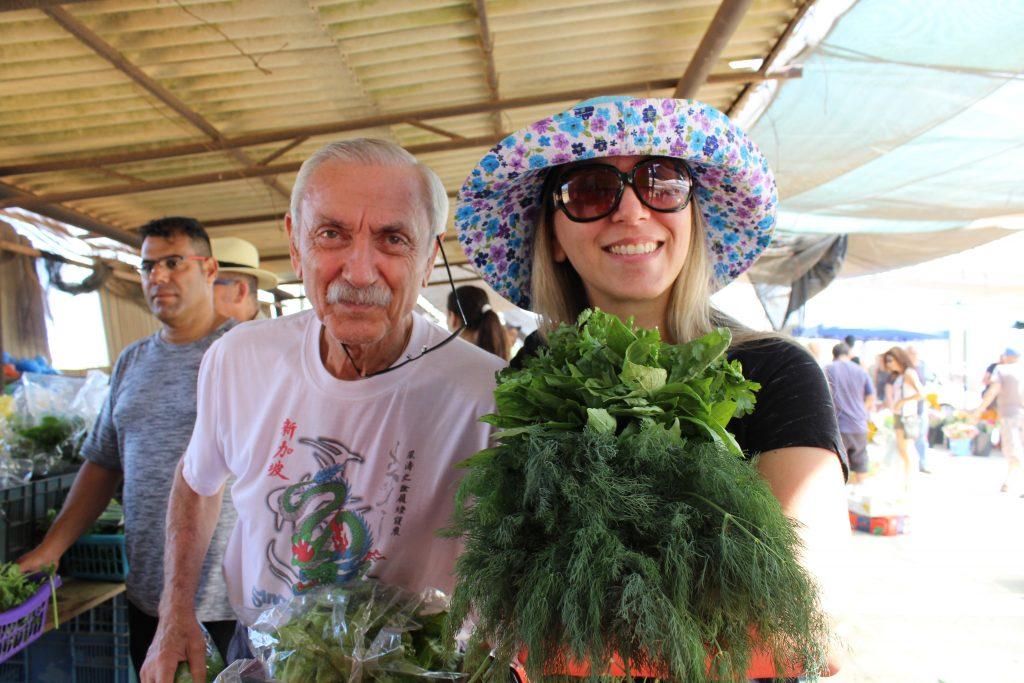 ירקות חסה עשבי תיבול משק רמי קנטור