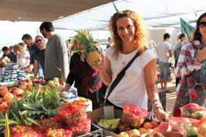 פירות ירקות טרי ישר מהחקלאי שוק איכרים