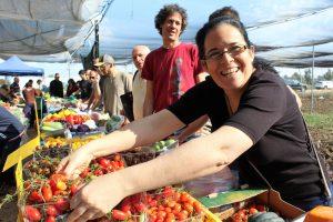 משק רמי קנטור רמת השרון עגבניות מלפפונים חסה כרוב פירות